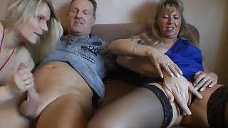 Lesbo Cock Milking 3 Some - TacAmateurs