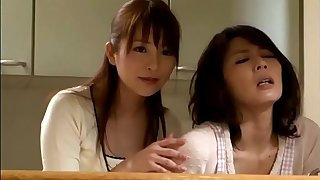 Yabe Hisae, Nagasawa Maomi - Thoughtful daughter in law takes care of mother in law sexual needs
