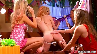 Jana Jordan has a blast with a couple of horny lesbians