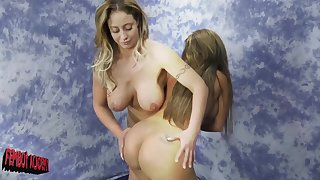 After get under one's catfight Eva Notty wants to trouble perfect Richelle Ryan body