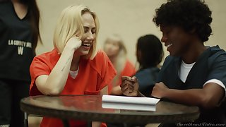 Female prisoners having amazing sex - Carter Cruise and Alison Rey