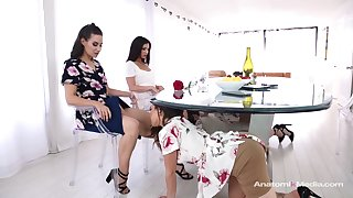 Cassidy Klein and Jane Wilde like to have group lesbian sessions, every once respecting a while