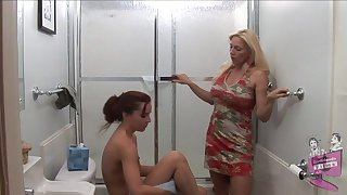 Old vs young tribade porn video with Cindy Craves and AnnaBelle Lee